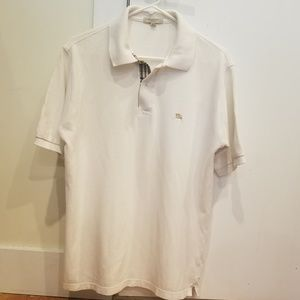 100% Authentic Men's Burberry Polo - Size: Small